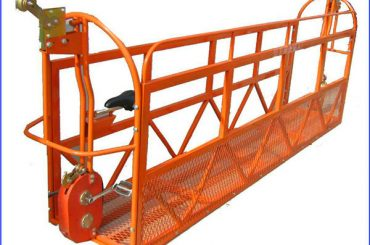 1000 kg 7.5 mx 3 Bagian Aluminium Alloy Suspended Working Platform ZLP1000