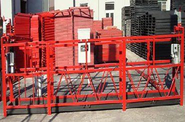 bangunan reresik digantung platform zlp800 karo 800kg dirating mbukak