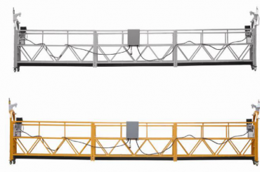 Hot sales Alumimum alloy suspended platform / suspended gondola / suspended cradle / suspended swing stage with form E
