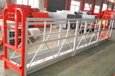 2 Bagian 500kg Suspended Working Platform Kanthi 3 Tiper Bobot