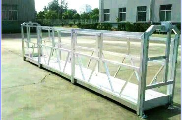 platform galvanis tali kang dilereni panas, gondola sing diendarai bangunan dhuwur