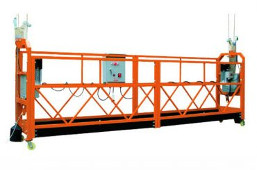 2.5M x 3 Bagian 1000kg Suspended Access Access Platform Lifting Speed 8-10 m / min