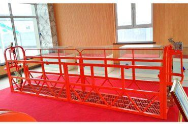 Akses Platform Suspended Steel 7.5m 1.8kw 800kg Bangunan Maintenance