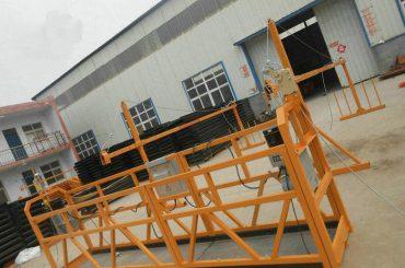 Reliable ZLP630 Lukisan Baja Digantung Working Platform Untuk Konstruksi Bangunan (2)
