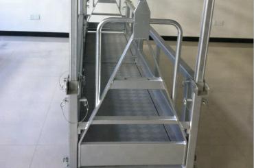 platform kerja baja sing digantung / platform baja sing digantung