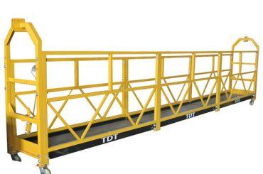 Steel Hot Galvanized Aluminium Alloy Rope Digantung Platform 1.5KW 380V 50HZ