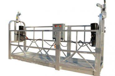 ce / iso-disetujui zlp listrik konstruksi / bangunan / eksternal tembok digantung platform / cradle / gondola / ayunan tataran / langit climbe