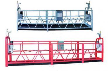 zlp 630 tali suspended platform aerial karya ayunan panggung scaffold karo plastik semprotan dicet