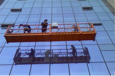 platform konstruksi sing kuwat dilereni kenceng kanthi kunci safety 30kn zlp1000 2.2kw 2.5m * 3