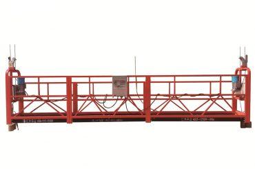 baja / panas galvanized temporer suspended platform, zlp500 pangopènan cradle
