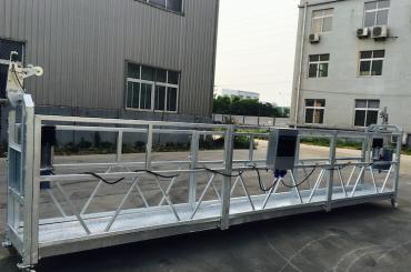 laras aluminium alloy tali suspended platform zlp 800 kanggo refurbishing / lukisan