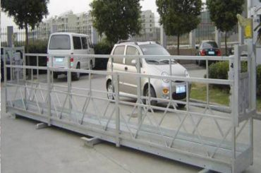 zlp630 tali suspended platform / panggung swara panggung / scaffolding kanggo jendhela mesin reresik