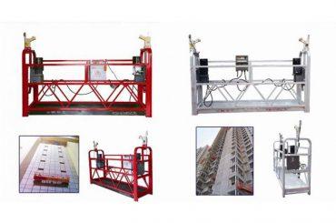 tali hanging suspend akses platform, zlp630 construction lift gondola machine
