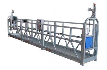 genggaman listrik tali gondola kabel zlp500 semprot cat platform yang ditangguhkan