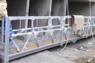 platform safety rope suspended platform ngangkat dhuwur 300m kanggo lukisan